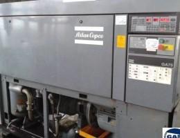 Šroubový kompresor Atlas copco GA75